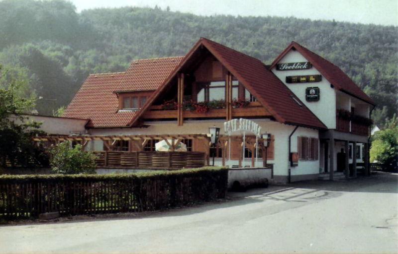 Cafe Restaurant Seeblick Konigsbronn Hotel Gasthof